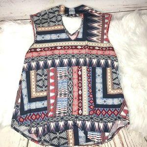 Cato sleeveless blouse size small